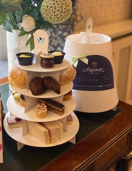 blog fitzpatrick castle afternoon tea