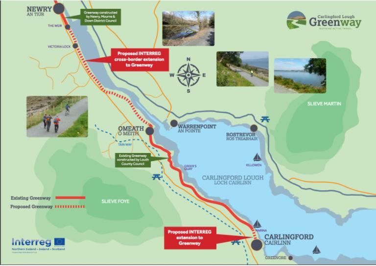 carlingford map